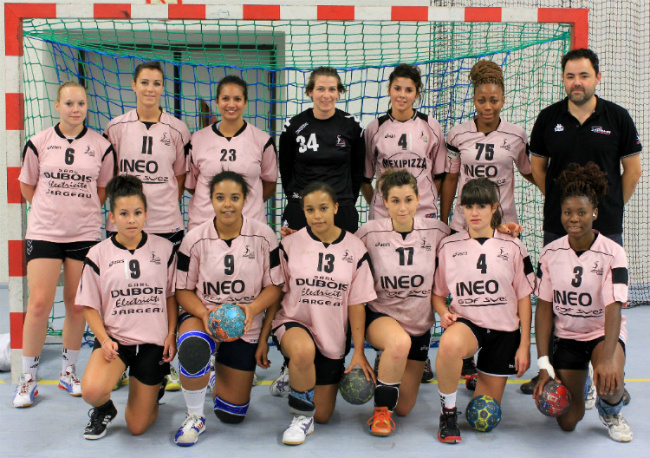 Equipe Nationale 2 contre Villemomble le 29 septembre 2012