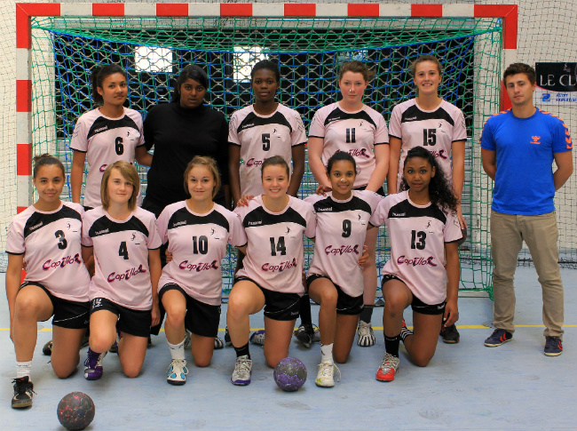 Equipe -18 nationale (match contre Massy-Palaiseau le 15/09/2012)